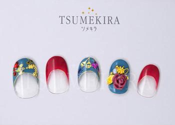Vicky Wu プロデュース4 Spring flower paradise2 ゴールド(ジェル専用)