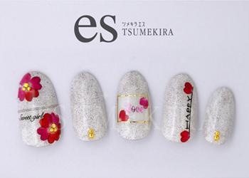 【ツメキラエス】 Heart-shaped petals