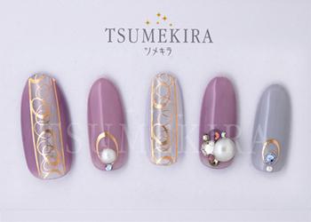TOMOMI プロデュース1 Noble Line シャンパンピンク(ジェル専用)